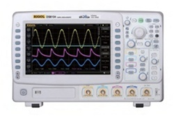 Rigol DS6064 600 MHz Digital Signal Oscilloscope, with 4 channels, 5 GSa/sec sampling, up to 120,000