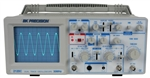 BK Precision 2120C 30 MHz Dual Trace Analog Oscilloscope With Probes