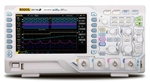 Rigol DS1104Z-S 100 MHz Digital Oscilloscope with 4 channels and 25 MHz 2 channel integrated source plus 12 Mpt memory  and connectivity and 1 GSa/sec sampling.