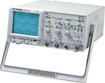 Instek GOS-6103 100 MHz Bandwidth 2 channels Analog Oscilloscope with Cursor Readout. Brand New.