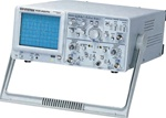 Instek GOS-620FG 20 MHz Bandwidth 2 channel Analog Oscilloscope. Brand New.