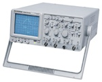 Instek GOS-653G 50 MHz Bandwidth 2 channel Analog Oscilloscope. Brand New.