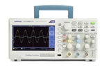 Tektronix TBS1202B-EDU Oscilloscope; Digital Storage, 200 MHz, 2 GS/s, 2.5k record length, 2-ch, Color Display, 5-year Warranty and Certificate of Traceable Calibration Standard